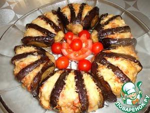 Рецепт Баклажаны, начиненные фаршем и фенхелем