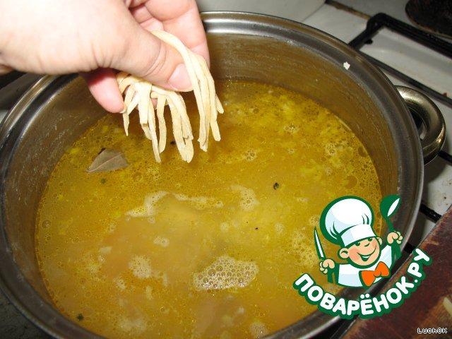 Лапша куриная домашняя рецепт с пошагово