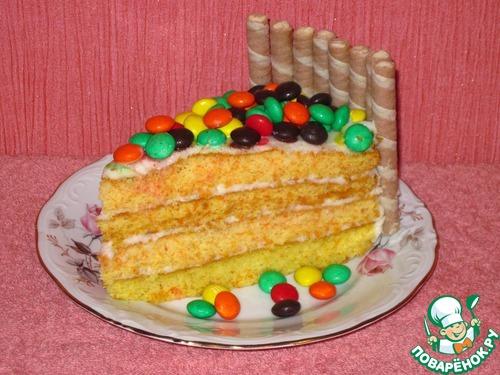 """Новогодний торт """"Конфетти"""""""