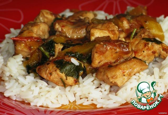 Курица итальянски рецепт с фото