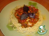 Спагетти с грибами по-болонски ингредиенты