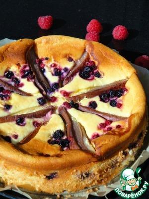 Рецепт Творожный пирог с грушами