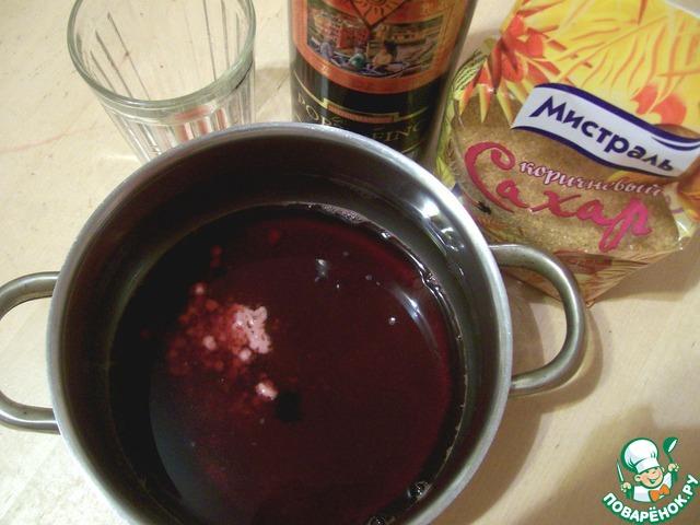 Клюквенный соус к курице рецепт пошагово