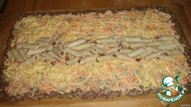 Из фарша рецепты пошагово быстро с макаронами