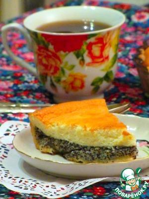Рецепт Сметанный пирог с маком