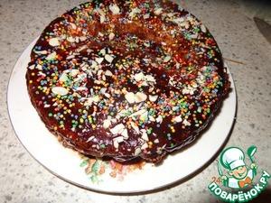 Рецепт Ореховый тортик из детства