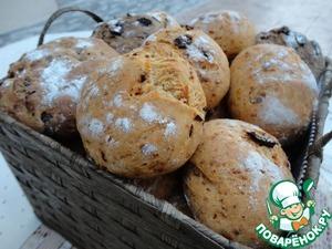 Рецепт Ассорти маленьких хлебушков с разными вкусами