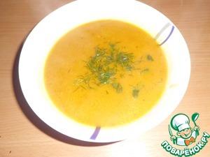 Рецепт Тыквенный кремовый суп