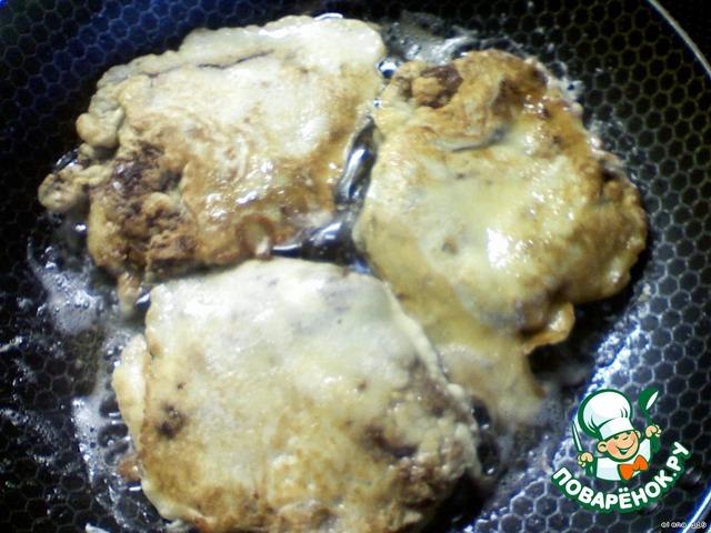 Печень в кляре рецепт с фото пошагово