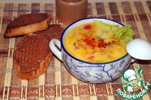Рецепт Британский суп из эля с сыром