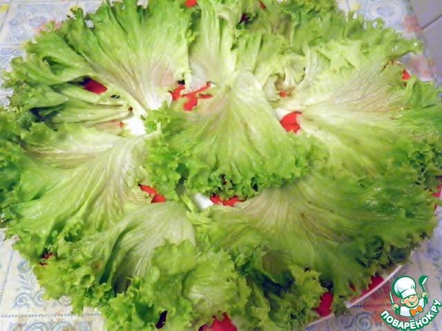 Как приготовить салат из листьев салата