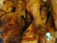 Пряные куриные голени в рукаве ингредиенты