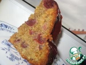 Рецепт Кекс с вишней, миндалем и марципаном
