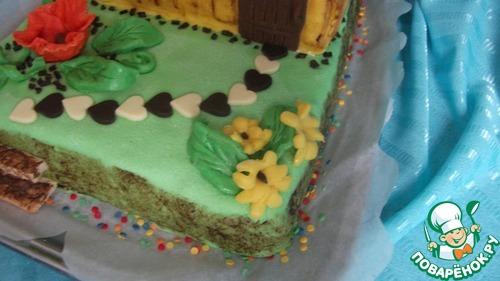 """Торт для любимого """"Мечты сбываются"""""""