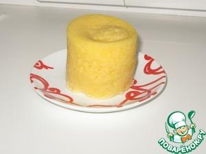 Рецепт Десерт на завтрак из микроволновки