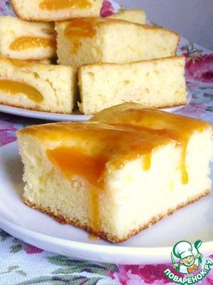 Рецепт Абрикосовый пирог от Александа Селезнева