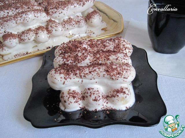 Крем с маскарпоне для торта дамские пальчики