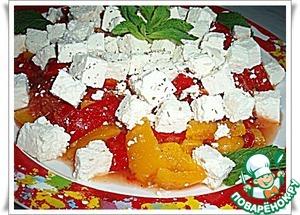 Рецепт Сладкие перцы с сыром