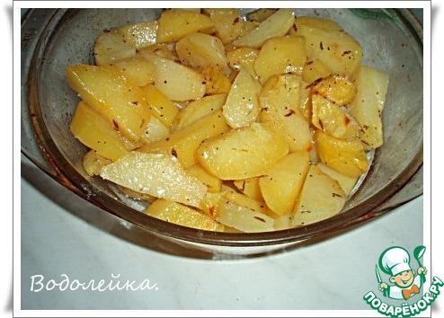 Картошка в микроволновке рецепт в пакете