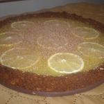 Лимонный пирог из печенья