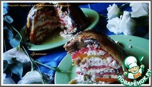 Рецепт Овощной террин из баклажанов с брынзой