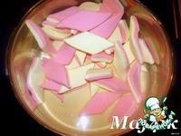 Мастика из белого шоколада и розочки из неe ингредиенты