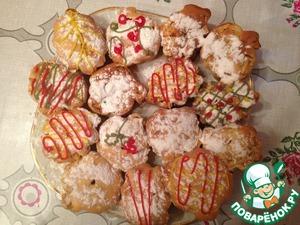 Рецепт Яблочный кекс с корицей