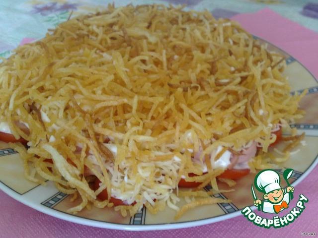 Кальмары салаты вкусные и простые