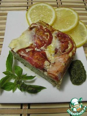 Рецепт Запеканка из лосося