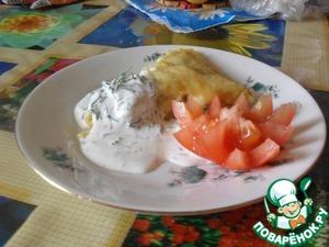 Рецепт Картофельная запеканка в укропном соусе
