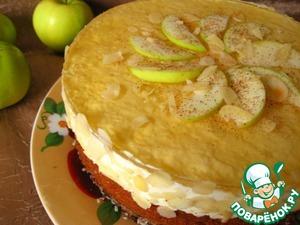 Рецепт Яблочно-коричный торт