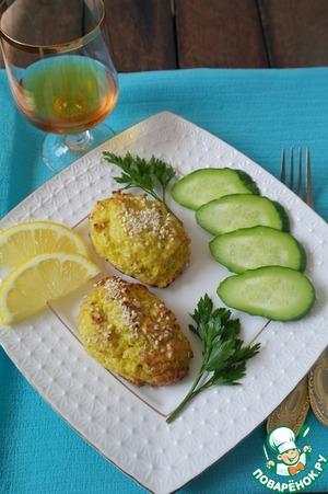 Рецепт Рыбные котлеты с творогом и цветной капустой