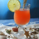 """Чайно-цитрусовый пунш с фруктовым сиропом """"Морской бриз"""""""
