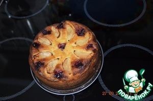 Рецепт Творожно-фруктовая запеканка