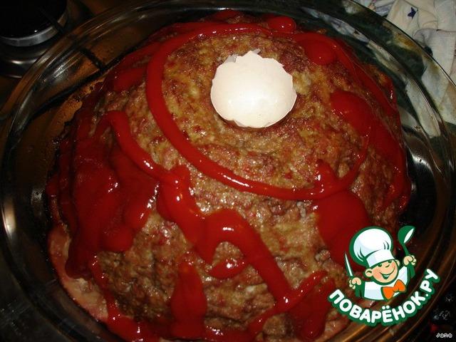 """Готовим простой рецепт приготовления с фото """"Вулкан"""" #7"""