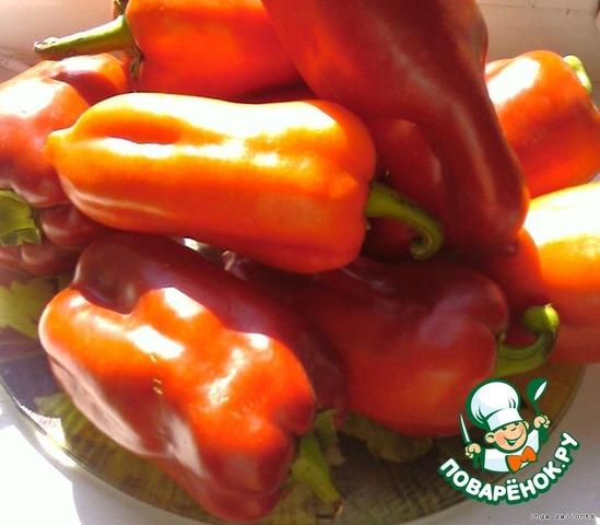 Как приготовить Фаршированый перец по-домашнему домашний рецепт с фото #1