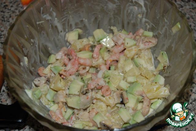 Возбуждающий салат для любимой вкусный рецепт приготовления с фото пошагово как приготовить #3