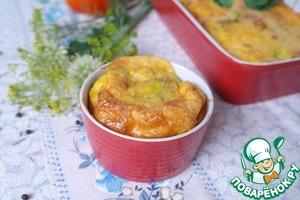 Рецепт Фриттата с картофелем и шпинатом