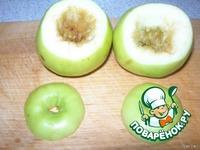 Быстрые печеные яблоки ингредиенты