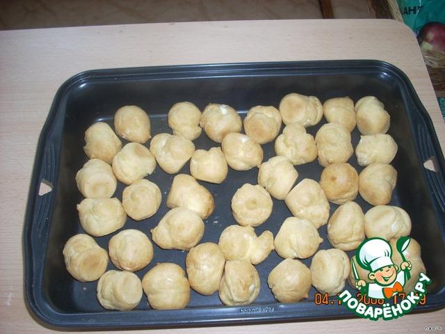 Торт из заварных шариков рецепт