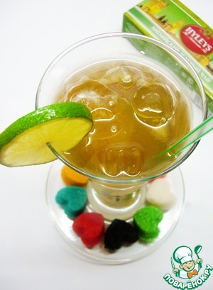 Рецепт Зеленый чай с джином