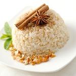 Рисовый пудинг c ванилью