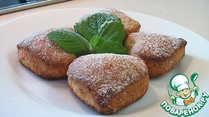 Рецепт: Печенье с творогом