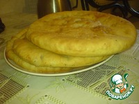 Осетинские пироги ингредиенты