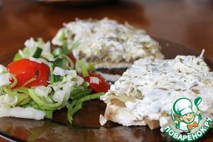 Рецепт Куриные отбивные с грибами из пароварки