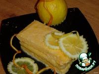 Замороженный десерт Лимонное семифредо ингредиенты