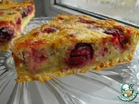 Заливной пирог с вишней ингредиенты