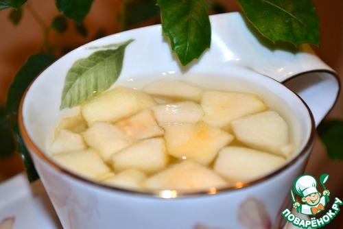 Яблочный чай – кулинарный рецепт