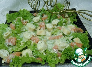 Рецепт Салат с блинами
