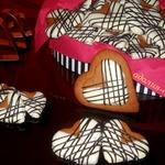 Сердечное печенье